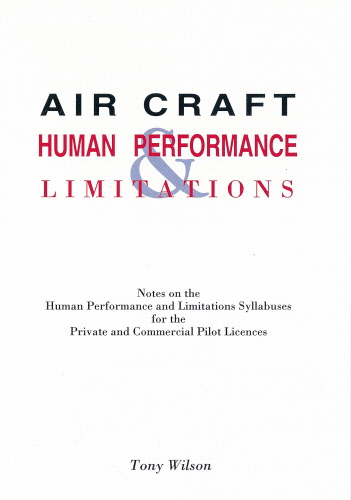 human performance and limitations in aviation pdf